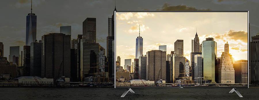 Tcl u55s7906 ultra hd 55 zoll flachbildfernseher - Flachbildfernseher wandmontage ...