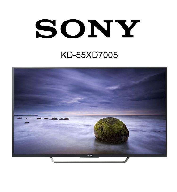 Der 55 Zoll Sony KD-55XD7005 Flachbildfernseher im Test