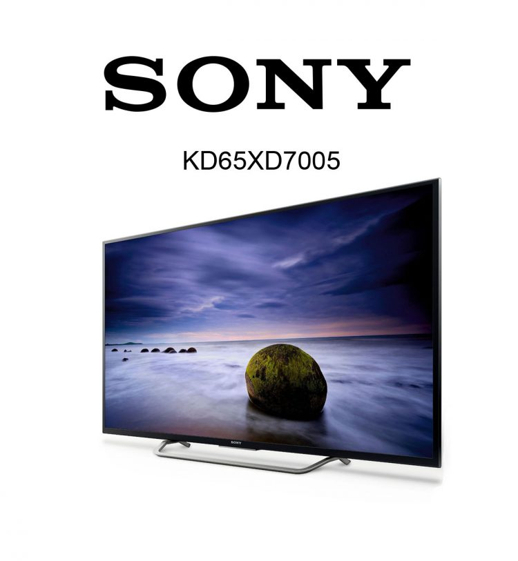 65 zoll sony kd 65xd7504 flachbildfernseher im test. Black Bedroom Furniture Sets. Home Design Ideas