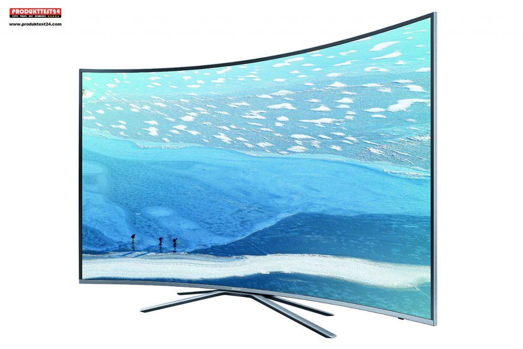 Samsung UE55KU6509 im Test. Der neue Samsung 55 Zoll Curved UHD Flachbildfernseher.
