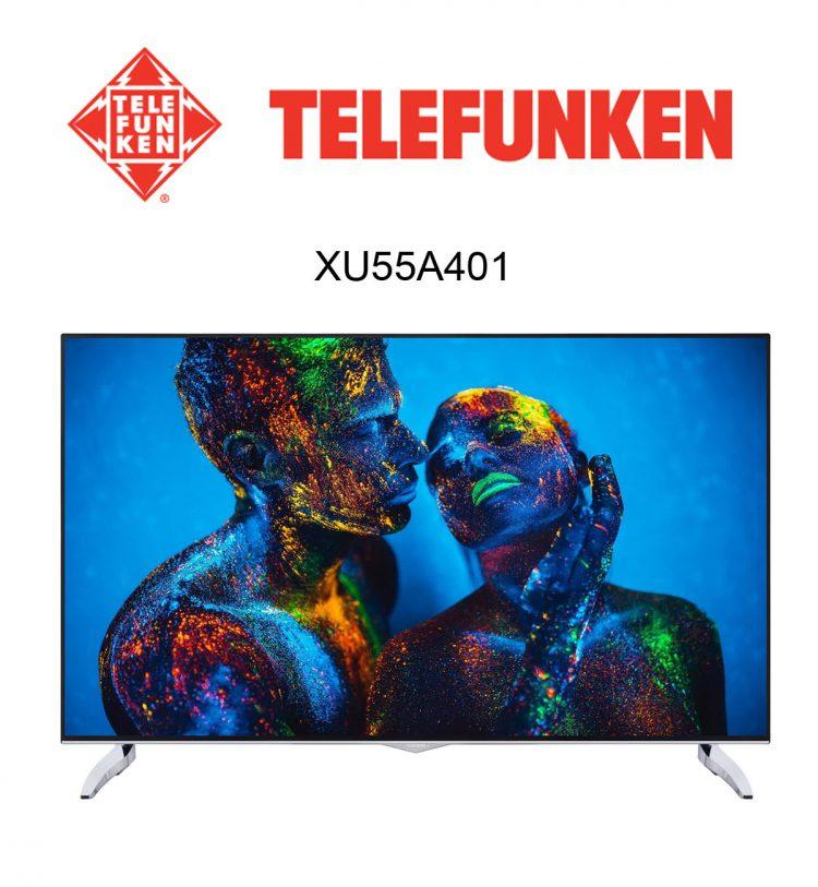 Telefunken XU55A401 Ultra HD Flachbildfernseher