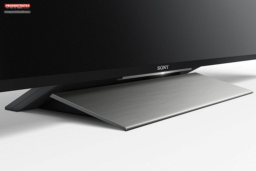 der sony kd 55xd8005 4k hdr flachbildfernseher im test. Black Bedroom Furniture Sets. Home Design Ideas