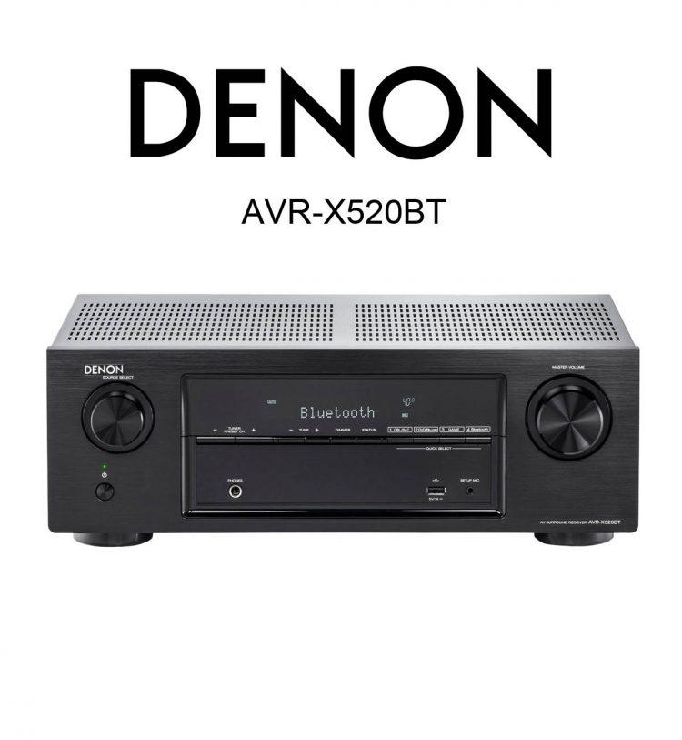 Denon AVR-X520BT AV-Receiver