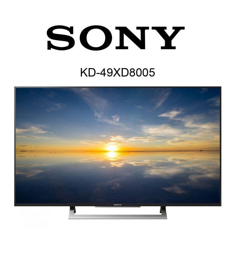 Sony Bravia KD-49XD8005 UHD TV mit HDR