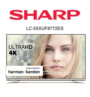 im Test: Der Sharp Aquos LC-55XUF8772ES Ultra HD Flachbild TV