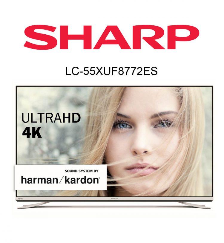 im Test: Der Sharp Aquos LC-55XUF8772ES Ultra HD Flachbild TV