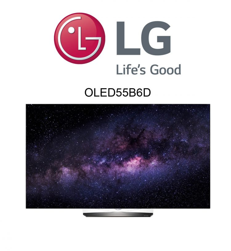 LG OLED55B6D Ultra HD Flachbildfernseher mit HDR und Dolby Vision