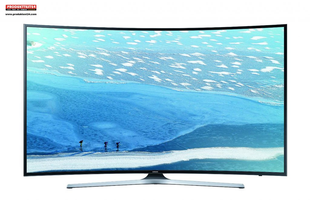 Samsung UE65KU6179 Ultra HD Curved TV mit HDR