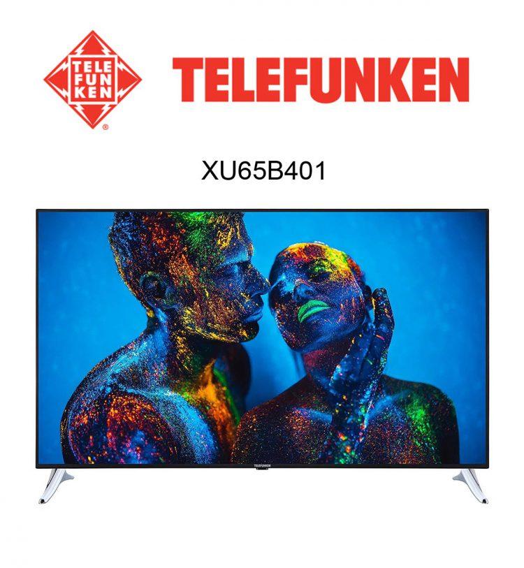 Der Telefunken XU65B401 4K UHD Flachbildfernseher im Test