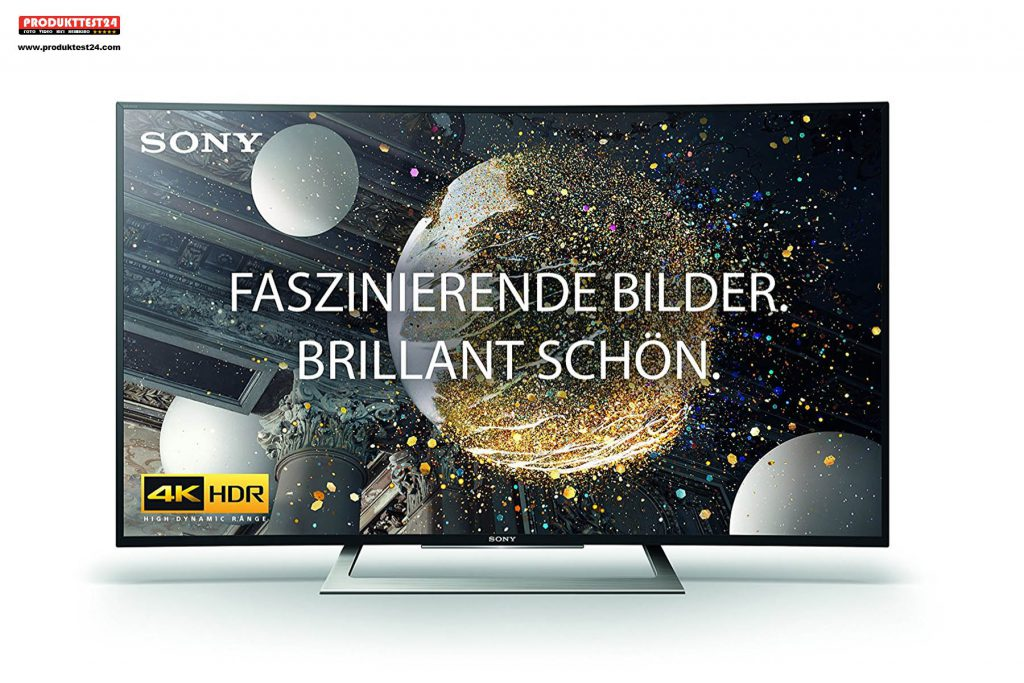 Sony KD-50SD8005 Ultra HD Curved TV mit HDR im Test