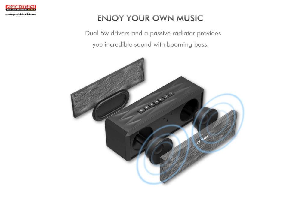 ECHTPower Beatsoul Bluetooth Boombox Speaker