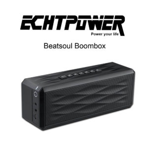Der ECHTPower Beatsoul Bluetooth Boombox Speaker im Test