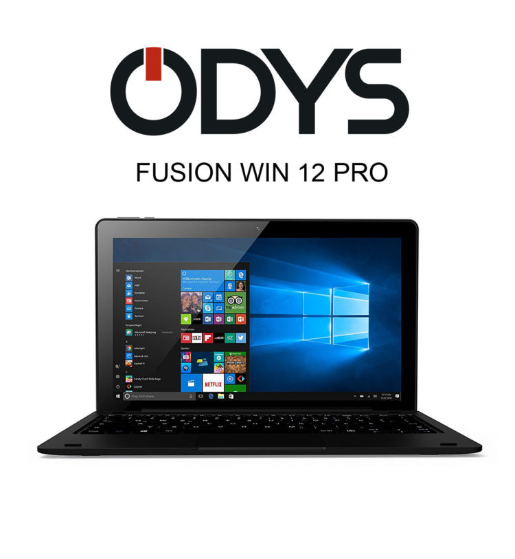 Das ODYS FUSION WIN 12 PRO Tablet mit Windows 10 im Test