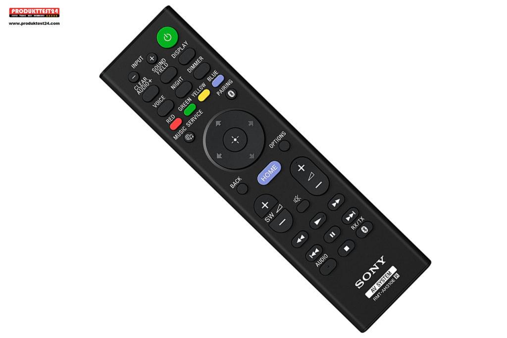 Fernbedienung der Sony HT-CT800 2.1 Soundbar