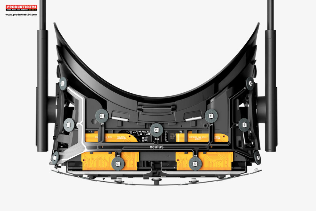 Oculus Rift mit OLED Display