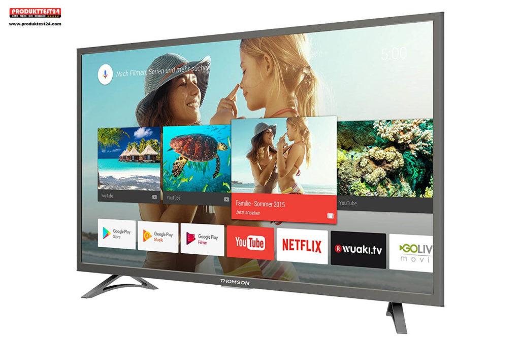 Thomson 43UC6406 Ultra HD Fernseher mit HDR10