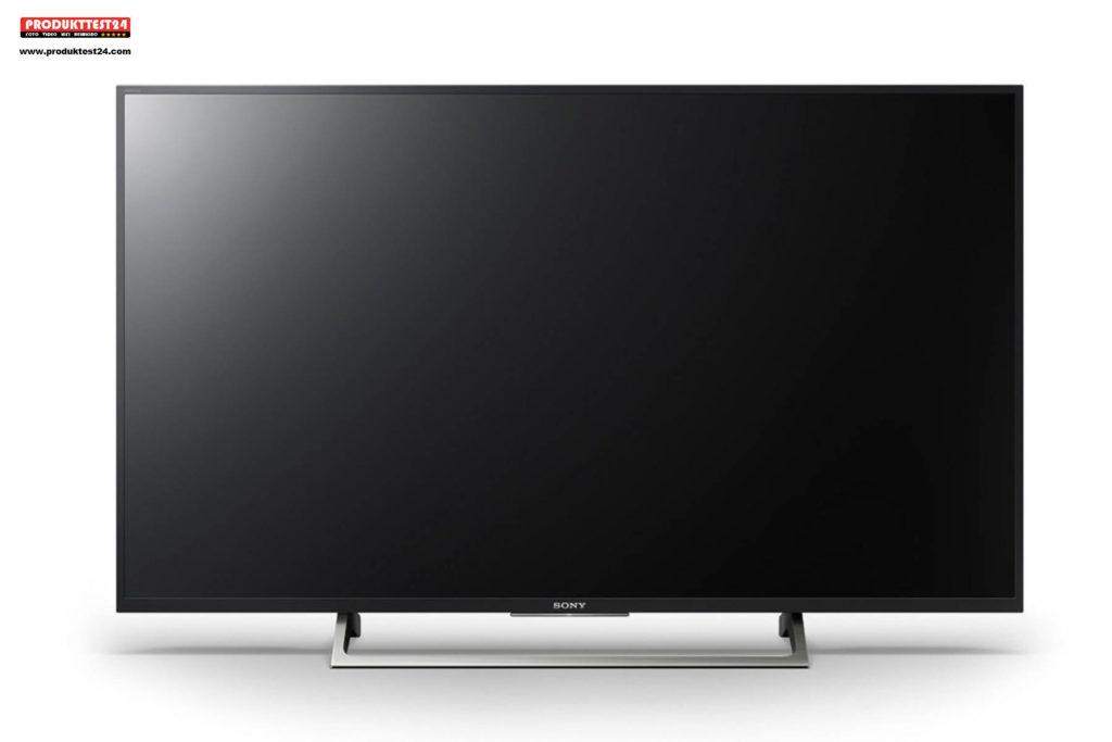 der sony kd 55xe7004 ultra hd flachbildfernseher mit hdr im test test und. Black Bedroom Furniture Sets. Home Design Ideas