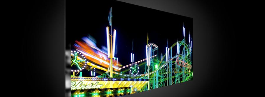 Der sony kd 55xe7004 ultra hd flachbildfernseher mit hdr - Flachbildfernseher wandmontage ...