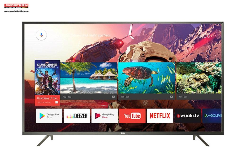 TCL U43P6046 Ultra HD Fernseher mit HDR10