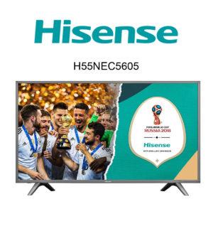 Hisense H55NEC5605 Ultra HD Fernseher mit HDR10