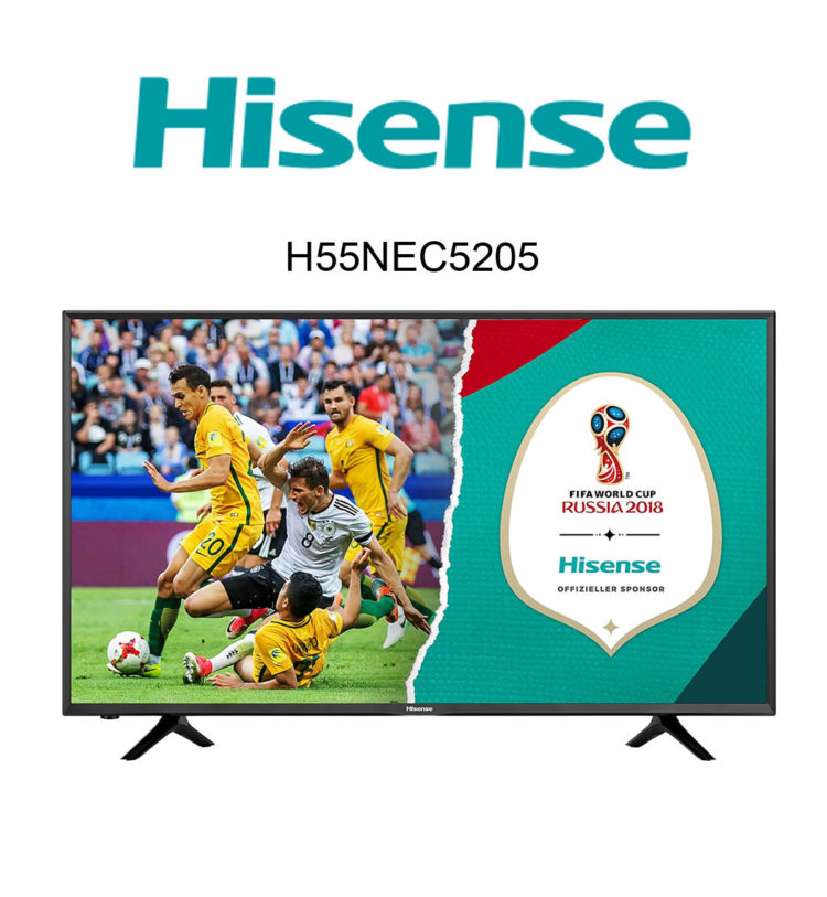 Hisense H55NEC5205 Ultra HD TV