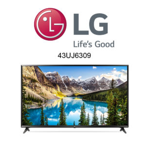 LG 43UJ6309 Ultra HD Fernseher mit HDR10