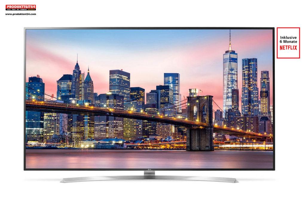 LG 75SJ955V Super UHD TV mit HDR und Dolby Vision