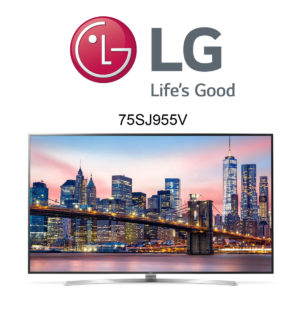 LG 75SJ955V Super UHD TV mit HDR und Dolby Vision