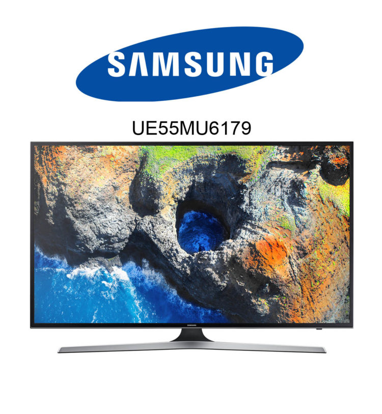 Samsung UE55MU6179 Ultra HD Fernseher mit HDR und SmartTV