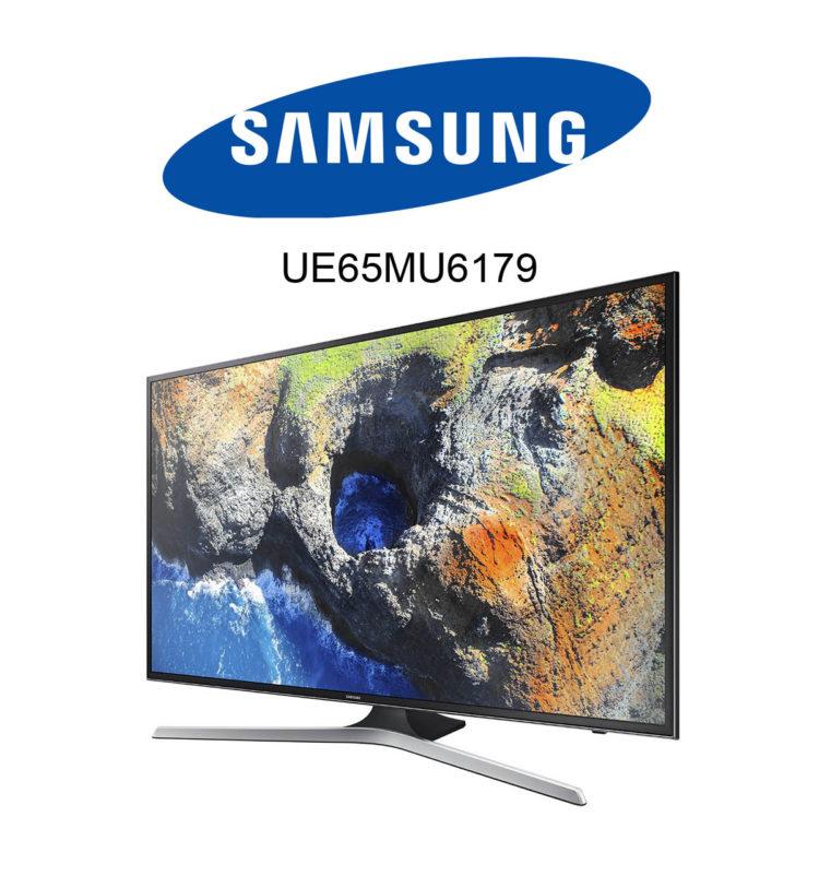 Samsung UE65MU6179 Ultra HD Fernseher mit HDR