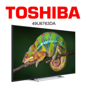 Toshiba 49U6763DA Ultra HD SmartTV Fernseher