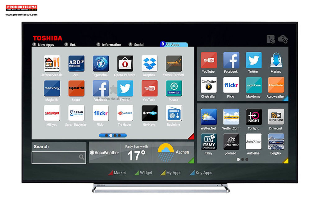 Toshiba 43U6763DA 4K UHD Fernseher