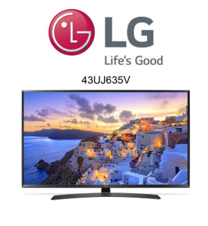 LG 43UJ635V Ultra HD Fernseher