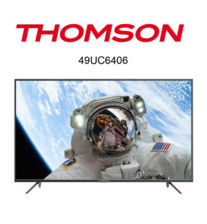 Thomson 49UC6406 Ultra HD Fernseher mit HDR10
