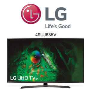 LG 49UJ635V Ultra HD Fernseher mit HDR