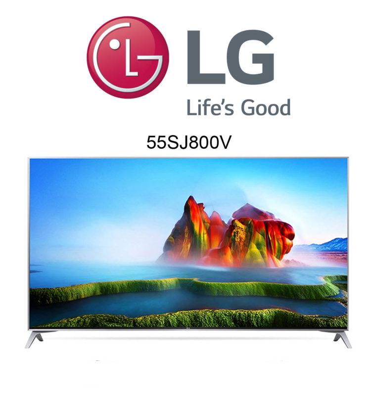 LG 55SJ800V Super UHD TV mit HDR und Dolby Vision