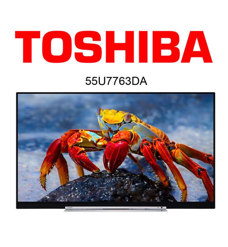 Toshiba 55U7763DA Ultra HD Fernseher