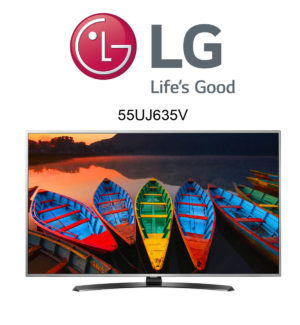 LG 55UJ635V Ultra HD TV mit HDR10