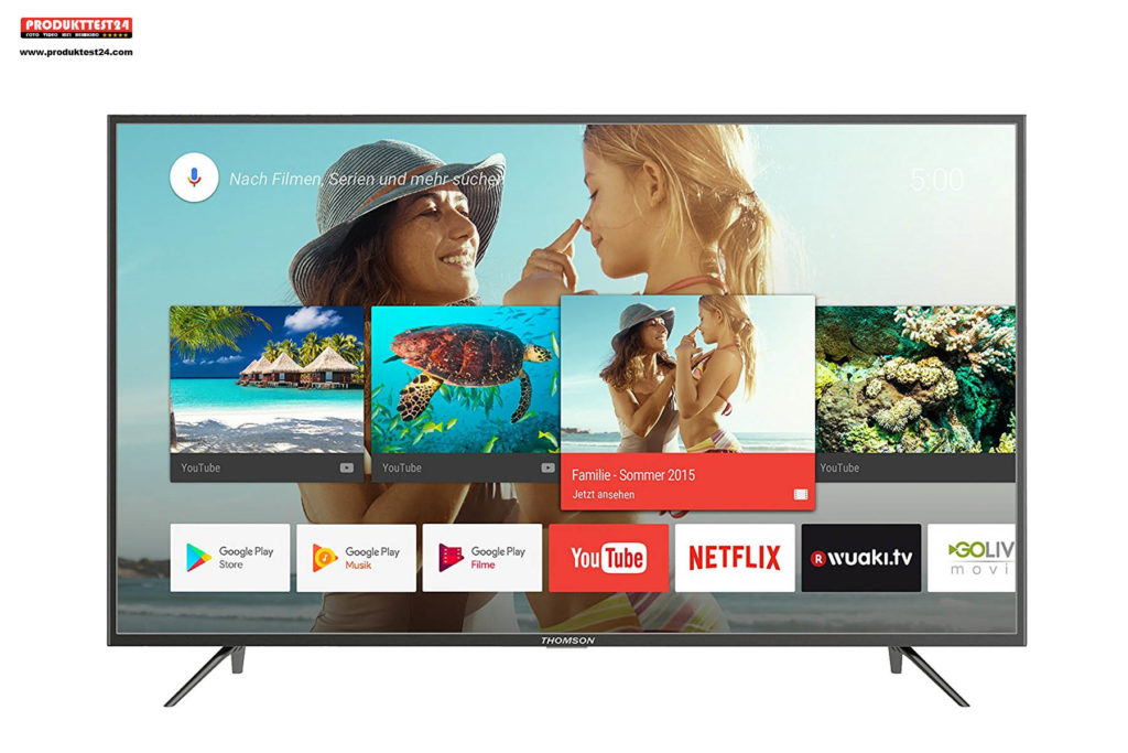 Thomson 65UC6406 Ultra HD TV mit HDR10