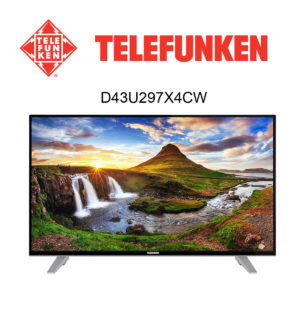 Telefunken D43U297X4CW Ultra HD Fernseher