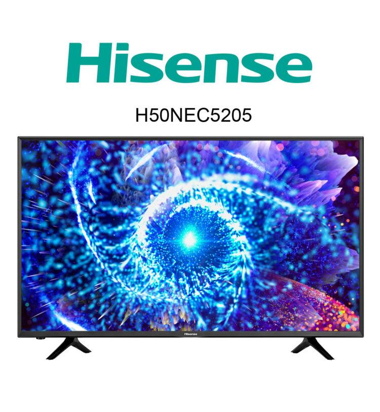 Hisense H50NEC5205 Ultra HD Fernseher mit SmartTV im Test
