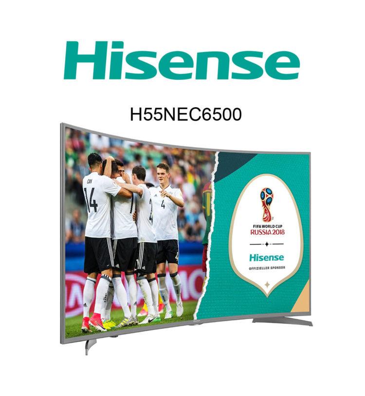 Hisense H55NEC Curved Ultra HD TV im Test