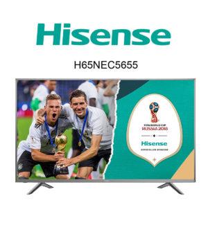 Hisense H65NEC5655 Ultra HD Fernseher mit HDR Plus
