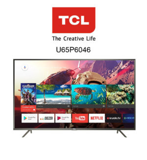 TCL U65P6046 Ultra HD Fernseher mit HDR10