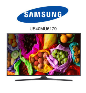 Samsung UE40MU6179 Ultra HD Fernseher mit HDR