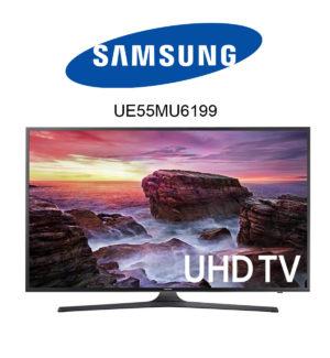 Samsung UE55MU6199 Ultra HD TV mit HDR10
