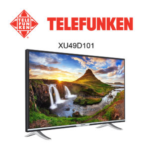 Telefunken XU49D101 Ultra HD Fernseher