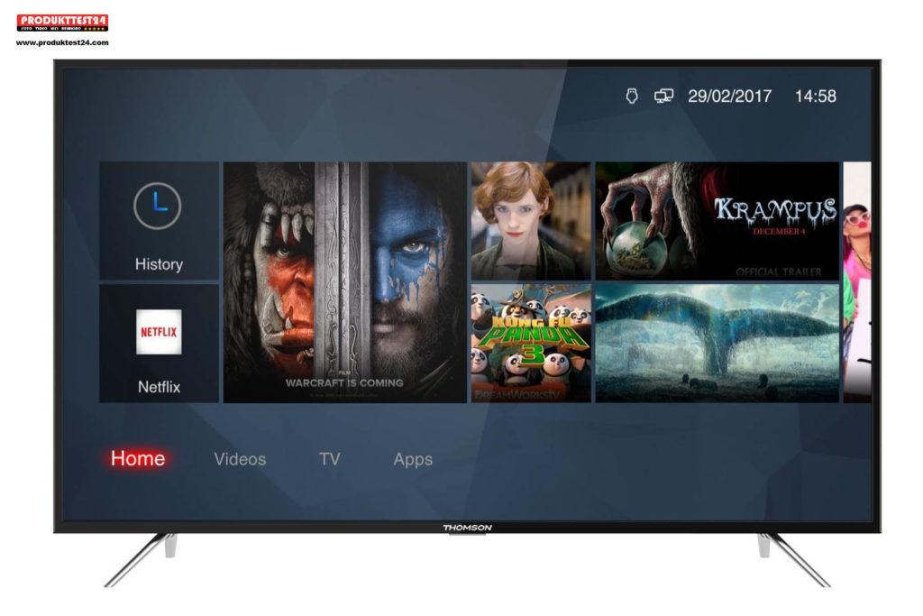 Thomson 43UC6326 Ultra HD Fernseher