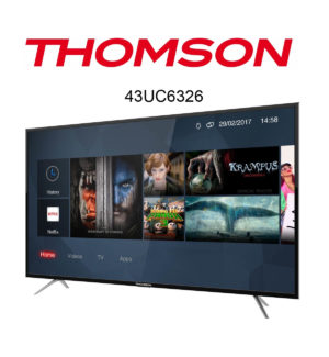 Thomson 43UC6326 Ultra HD Fernseher