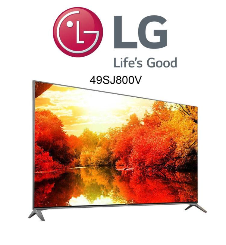 LG 49SJ800V Super UHD TV mit HDR10 und Dolby Vision